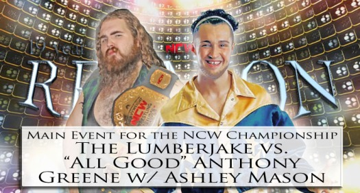 19yearREUNION ncw title match