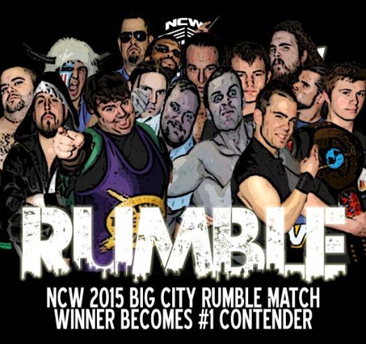 2015 BIG CITY RUMBLE match