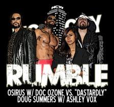 2015 BIG CITY RUMBLE OSIRUS VS DOUG