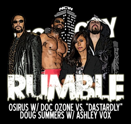 2015 BIG CITY RUMBLE OSIRUS VS DOUG