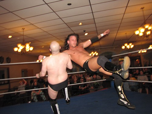 Buddy Romano vs. JT Dunn at NCW's 15 year REUNION