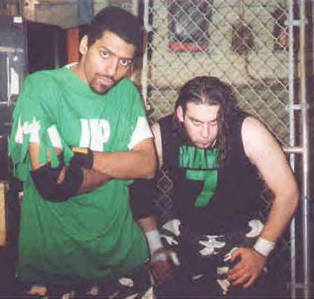 The NCW Tag Team Champions Cinna & Onyx- The Elements of Suicide.