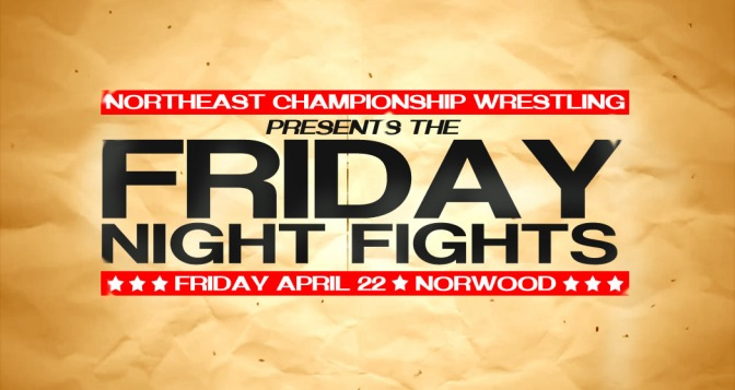 Press Release: April 22nd the Fights Come to Norwood
