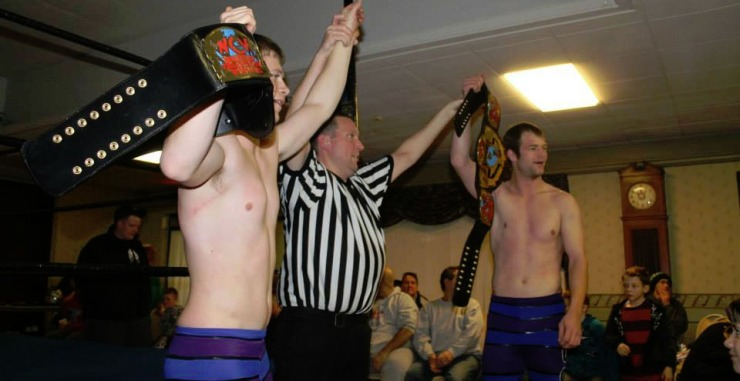 Winning their second NCW Tag Team Championship at WrestleFest X.