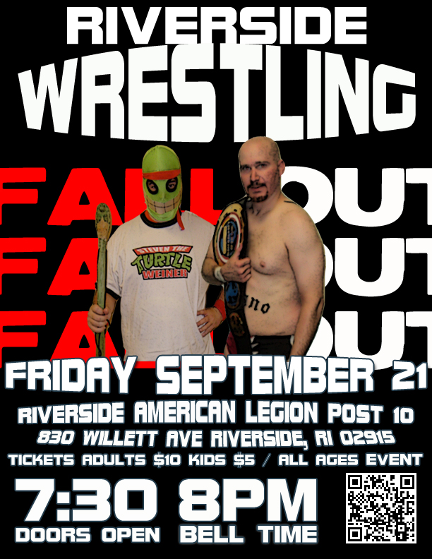 Press Release: NCW FALLOUT Returns to Riverside, RI