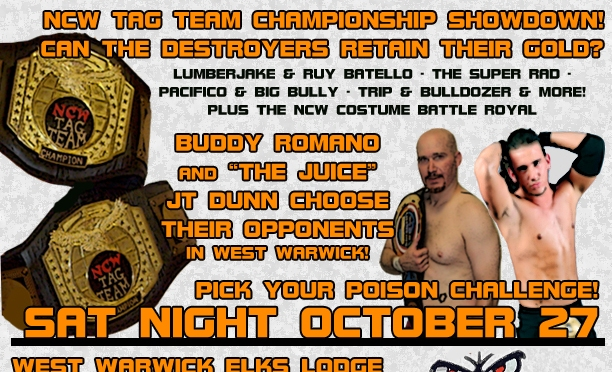 PRESS RELEASE: NCW NO FEAR Comes to West Warwick October 27th!