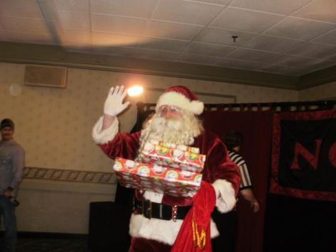 Santa in the house!!