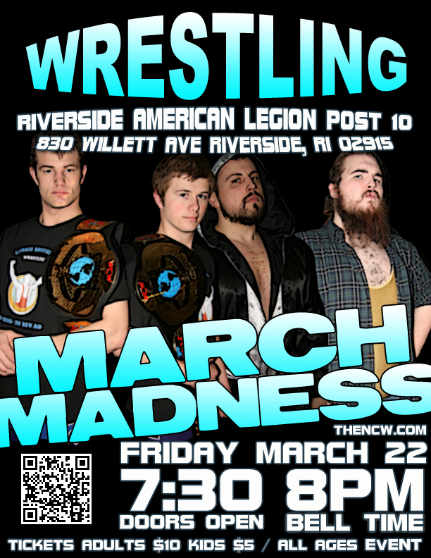 PRESS RELEASE: NCW Returns to Riverside for on March Madness 3/22!