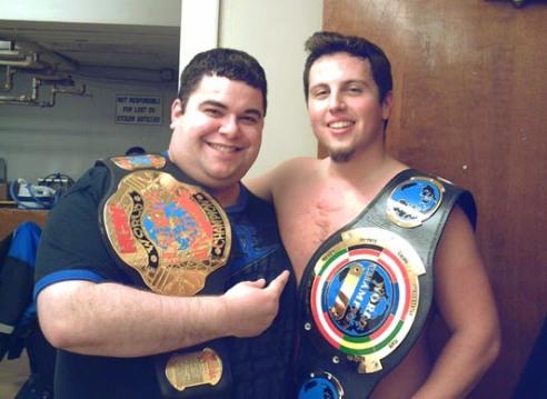 Two NCW Champions past & present