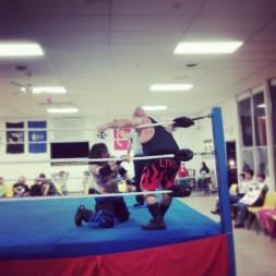 """vs. """"The Maniacal"""" Jack Krueger at NCW vs. Team Dynamite (Sept 2013)"""