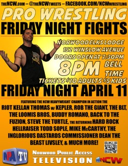 FRIDAYNIGHTFIGHTSflyer