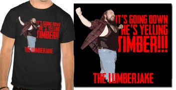 NEW Lumberjake T-Shirt!