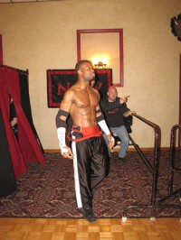 """Simply the Best"" GA West makes his arrival at the Jacob Jones VFW Post"