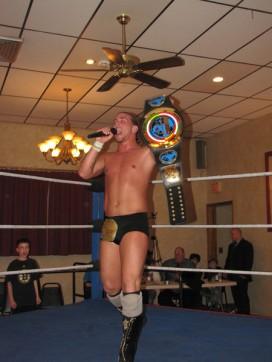 "The new NCW Heavyweight Champion ""The Juice"" JT Dunn"