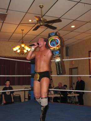 "The new NCW Heavyweight Champion ""The Juice"" JT Dunn"