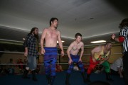 The Loomis Brothers stand tall with The BLT during the NCW Tag Team Invitational.