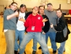 """A group photo of NCW Originals. From left JC Marxxx, """"Revolution"""" Chris Venom, Michael Tootsie Esquire, Dan Tanaka, Ruy Batello, and Mike Paiva (before they were bitter enemies)"""