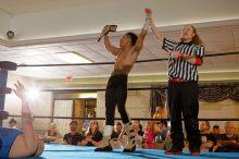 Winning the NE title in June 2015