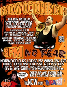 NCW NO FEAR 2015 FLYER