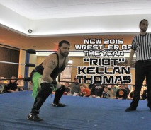 NCW 2015 Wrestler of the Year, three years in a row