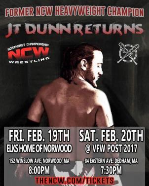 JT Dunn Returns