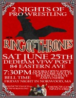 ON DEMAND NCW Ring of Thrones Night 2