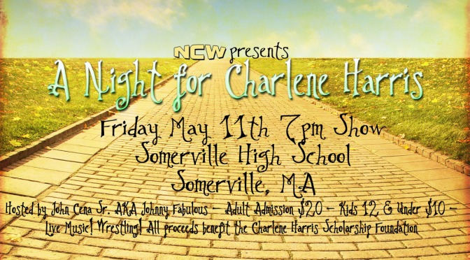 PRESS RELEASE: NCW's A Night for Charlene Harris This Friday in Somerville!