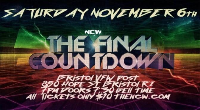 PRESS RELEASE: NCW's Final Countdown Comes to Bristol, RI November 6th!